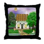 My Irish Cottage Throw Pillow
