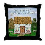 Housewarming Gift Cottage Throw Pillow