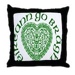 Ireland Forever (Gaelic) Throw Pillow
