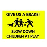 Give Us a Brake Postcards (Package of 8)