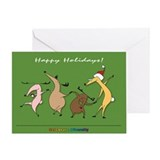 Reindeer Diversity Greeting Card