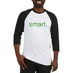 Smart. Baseball Jersey Eco T-shirt Be Smart Green