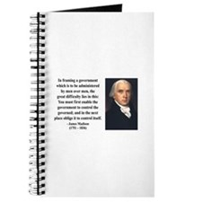James Madison 4 Journal