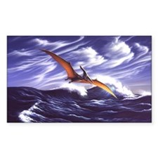 Pteranodon 2 Rectangle Decal