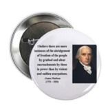"James Madison 8 2.25"" Button"