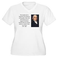 James Madison 10 Women's Plus Size V-Neck T-Shirt