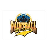 Paint Ball My Sport Postcards (Package of 8)