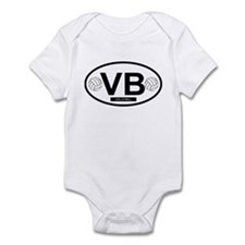 Cute Beach volleyball Infant Bodysuit
