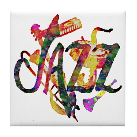 JAZZ - Tile Coaster