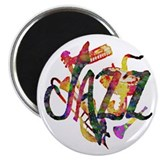 "JAZZ - 2.25"" Magnet (100 pack)"