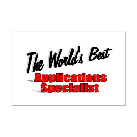 &quot;The World's Best Applications Specialist&quot; Mini Po