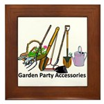 Garden Party Accessories Framed Tile