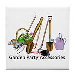 Garden Party Accessories Tile Coaster