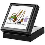Garden Party Accessories Keepsake Box