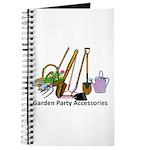 Garden Party Accessories Journal
