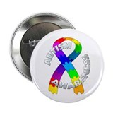 "Autism Puzzle Ribbon 2.25"" Button (10 pack)"