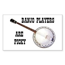 BANJO Rectangle Decal