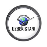 World's Greatest UZBEKISTANI Wall Clock