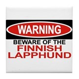FINNISH LAPPHUND Tile Coaster