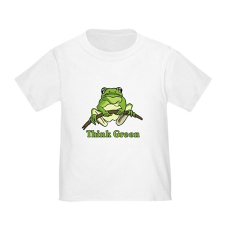 Think Green Toddler T-Shirt