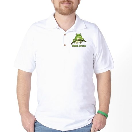 Think Green Golf Shirt