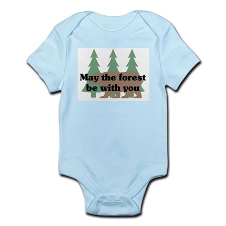 May the Forest be with you Infant Bodysuit