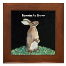 Flemmish Rabbit Framed Tile