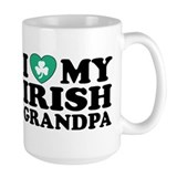 I Love My Irish Grandpa Mug