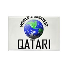 World's Greatest QATARI Rectangle Magnet