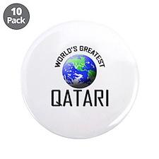 "World's Greatest QATARI 3.5"" Button (10 pack)"
