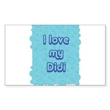 Bubbles - Didi Rectangle Decal
