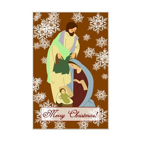 The Nativity Mini Poster Print