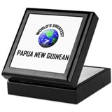 World's Greatest PAPUA NEW GUINEAN Keepsake Box