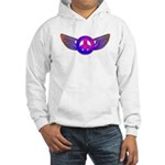 Peace Wing Groovy Hooded Sweatshirt