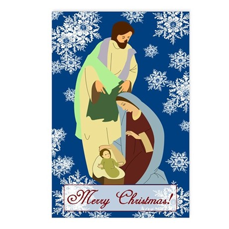 The Nativity Postcards (Package of 8)