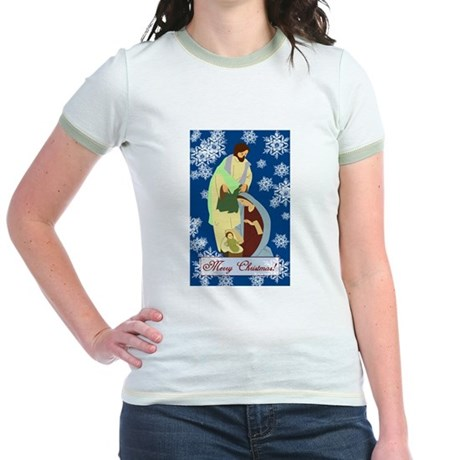 The Nativity Jr. Ringer T-Shirt