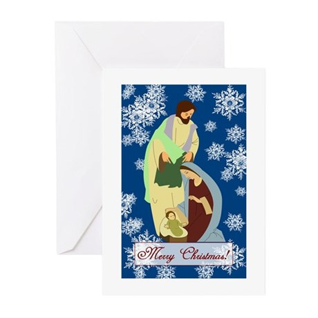 The Nativity Greeting Cards (Pk of 10)