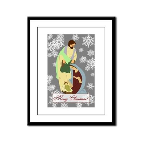 The Nativity Framed Panel Print