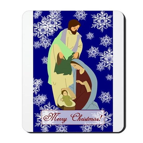 The Nativity Mousepad