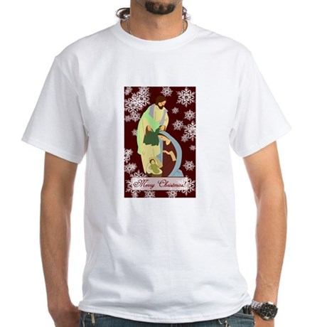 The Nativity White T-Shirt