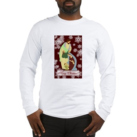 The Nativity Long Sleeve T-Shirt
