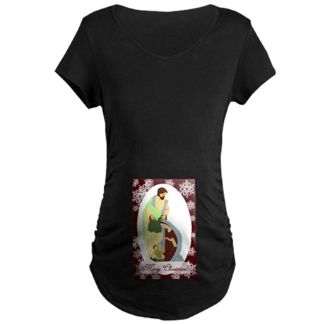The Nativity Maternity Dark T-Shirt