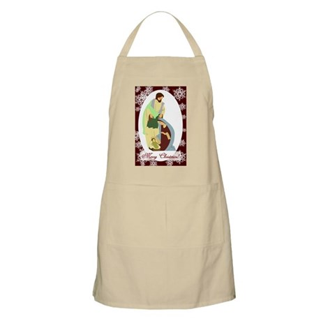 The Nativity BBQ Apron