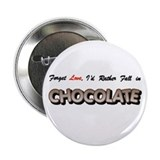 "...Fall in Chocolate 2.25"" Button (10 pack)"
