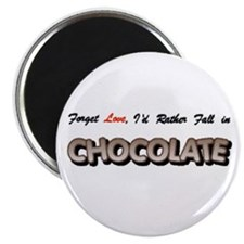 "...Fall in Chocolate 2.25"" Magnet (100 pack)"