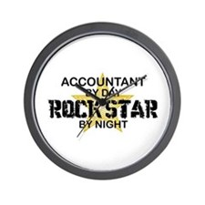 Accountant RockStar Wall Clock