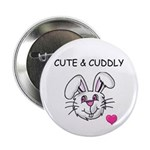 BUNNY FACE Button