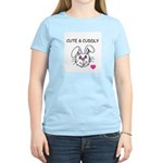 BUNNY FACE Women's Pink T-Shirt