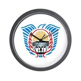 Tierra Del Fuego Coat of Arms Wall Clock
