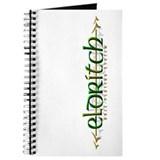 Official Eldritch RPG Logo Journal